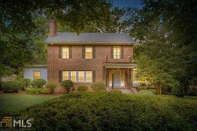 Druid Hills Single Family Home For Sale: 1146 Oakdale Rd