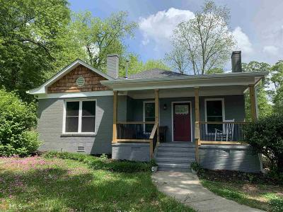 Griffin Single Family Home For Sale: 851 McLaurin St