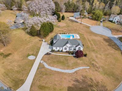 Fayetteville Single Family Home Under Contract: 130 Noble Forest Dr