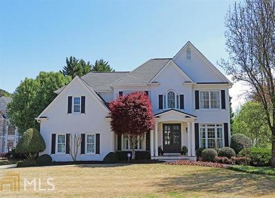 Alpharetta Single Family Home Under Contract: 945 Pebblestone Ct
