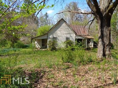 Banks County Single Family Home Under Contract: 158 Sunset Dr