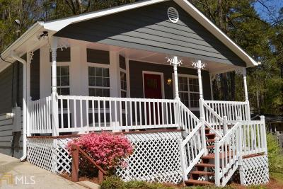 Snellville Single Family Home Under Contract: 4584 Amy Rd