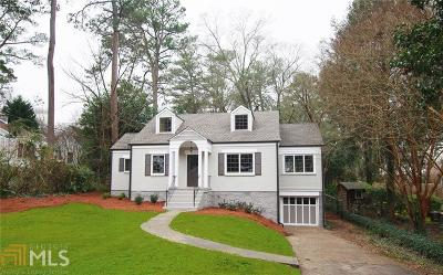 Druid Hills Single Family Home For Sale: 2039 Westminster Way