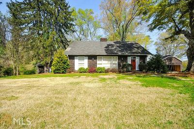 Austell Single Family Home For Sale: 5520 Old Marietta Rd
