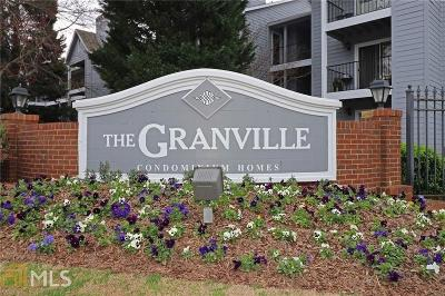 Sandy Springs Condo/Townhouse Under Contract: 408 Granville Ct