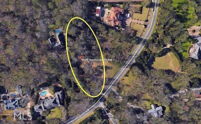 Roswell, Sandy Springs Single Family Home For Sale: 4606 Northside Dr