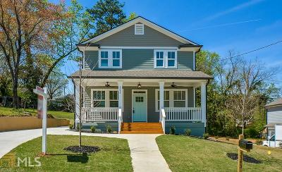 Hapeville Single Family Home For Sale: 3343 Lavista Dr