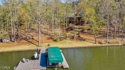 Greensboro, Eatonton Single Family Home Under Contract: 142 Winding River Rd