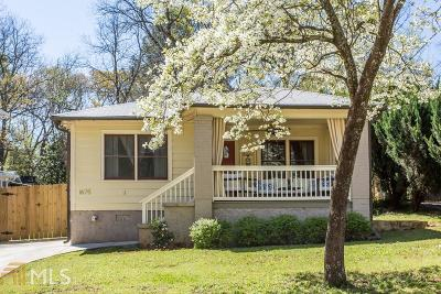 Kirkwood Single Family Home Under Contract: 1675 Wade Ave