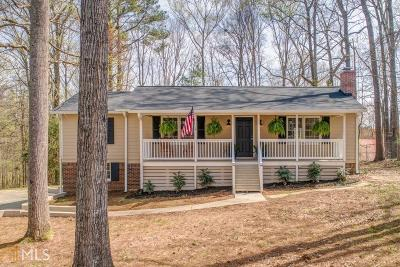 Kennesaw Single Family Home Under Contract: 348 Teague Dr
