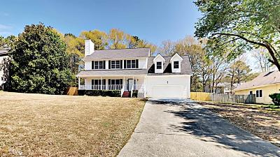 Snellville Single Family Home Under Contract: 2870 Summit View Ct