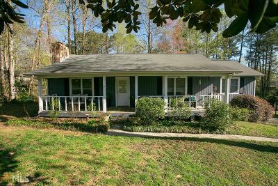 Kennesaw Single Family Home Under Contract: 139 NW Heck Rd