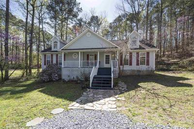 Acworth Single Family Home Under Contract: 6160 Little Ridge Rd