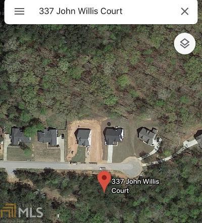 Villa Rica Residential Lots & Land For Sale: 337 John Willis #38