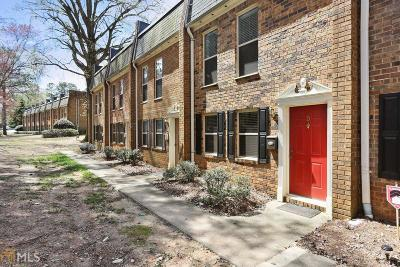 Sandy Springs Condo/Townhouse Under Contract: 145 N River Dr #D