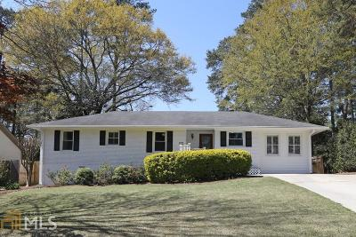 Brookhaven Single Family Home Under Contract: 1903 Fairway Cir