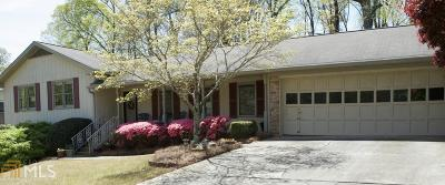 Stone Mountain Single Family Home Under Contract: 707 Rollingwood Pl