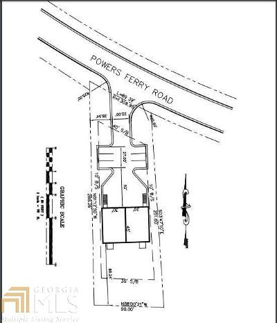 Cobb County Residential Lots & Land For Sale: 652 Powers Ferry Rd