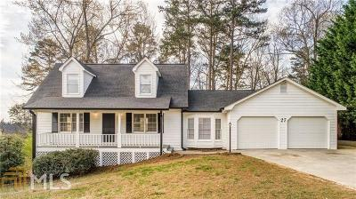 Cartersville Single Family Home Under Contract: 27 Rock Crest Cir
