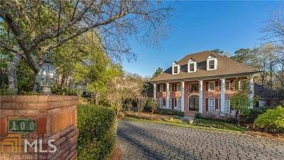 Roswell, Sandy Springs Single Family Home For Sale: 100 Larne Ct