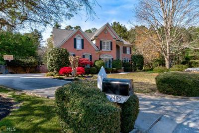 Snellville Single Family Home Under Contract: 2485 Lynshire Ln