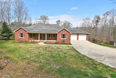 Banks County Single Family Home For Sale: 182 Crystal Springs Rd