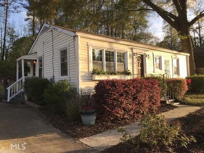 Smyrna Single Family Home For Sale: 540 Church Rd