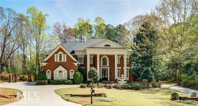 Johns Creek Single Family Home For Sale: 9275 Chandler Bluff