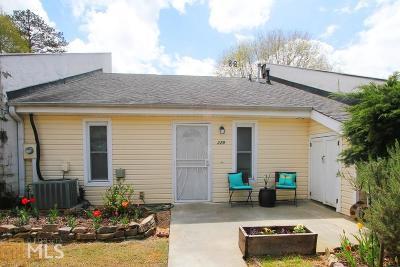 Woodstock Condo/Townhouse Under Contract: 229 Goshen Ln