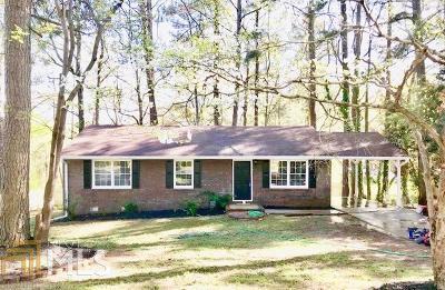 Acworth Single Family Home Under Contract: 3997 Garden