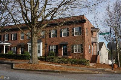 Suwanee Condo/Townhouse For Sale: 902 Scales Rd