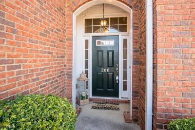 Woodstock Condo/Townhouse For Sale: 206 Claremore Dr #4