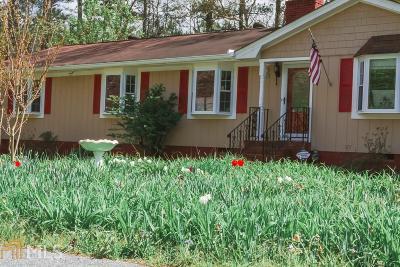 Acworth Single Family Home For Sale: 3321 Kellogg Creek Rd