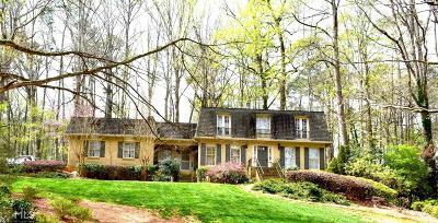 Stone Mountain Single Family Home New: 2282 Deer Ridge Dr #1