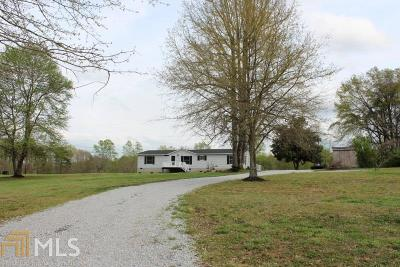 Banks County Single Family Home Contingent With Kickout: 146 Mintz Rd