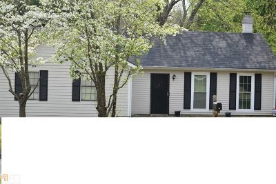 Stone Mountain Single Family Home Under Contract: 4843 Martins Crossing Rd