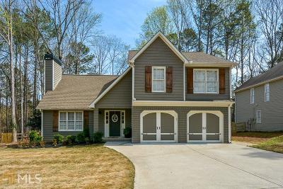 Woodstock Single Family Home Under Contract: 4018 Bent Willow Ln