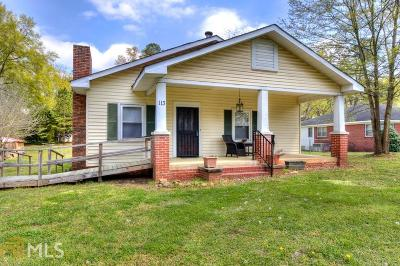 Cartersville Single Family Home Under Contract: 113 Cassville Rd