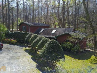 Roswell Single Family Home Under Contract: 100 Cardinal Dr