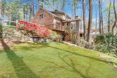 Sandy Springs Single Family Home For Sale: 9755 Huntcliff Trce