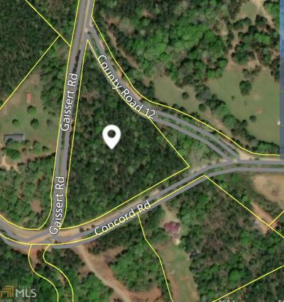 Jasper County Residential Lots & Land New: Gaissert Rd #5 Acres