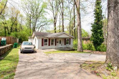 Scottdale Single Family Home Under Contract: 828 McLendon Dr