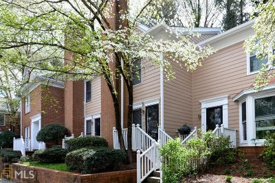 Sandy Springs Condo/Townhouse Under Contract: 7500 Roswell Rd #83