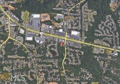Acworth Residential Lots & Land For Sale: 4321 McClure Rd
