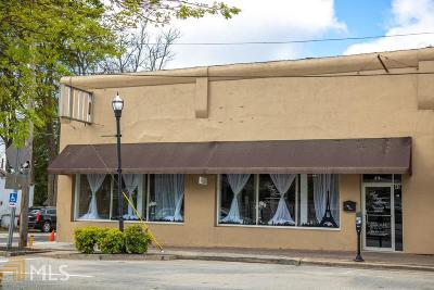 McDonough Commercial For Sale: 49 Macon St