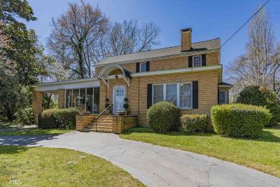 Buckhead, Eatonton, Milledgeville Single Family Home For Sale: 303 N Madison Ave