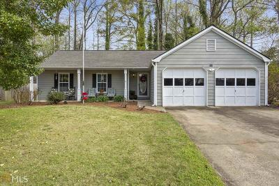 Woodstock Single Family Home Under Contract: 4019 River Rock Way
