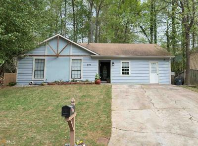 Lilburn Single Family Home Under Contract: 5134 NW Cold Springs Dr
