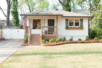 Hapeville Single Family Home Under Contract: 545 Woodrow