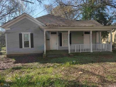 Griffin Single Family Home For Sale: 408 Meriwether St